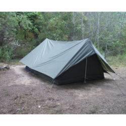 Палатка двухместная, с тентом